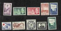 Australia-1954 Year  ASC 303-312  MNH - Australia