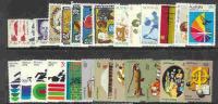 Australia-1972  Year  ,27 Stamps MNH - Australia