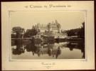 Photographie Originale Circa Fin 19ème Château De Pierrefonds Vue Prise Du Lac   NW43 - Pierrefonds
