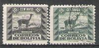 Bolivie N° YVERT 225/27 NEUF */o - Bolivia