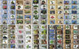 F02080 China Phone Cards Bonsai 100pcs - Fleurs