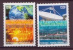 Polynesie N° 717-718** Neuf Sans Charniere Telecommunications - Polynésie Française