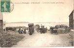 CPA 22 ENVIRONS DE PAIMPOL L ARCOUEST ARRIVEE DU COURRIER POUR BREHAT  RARE BELLE CARTE !! - Paimpol