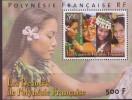 Bloc Feuillet   N°25** Lzes Beautes De Polynesie Francaise - Blokken & Velletjes