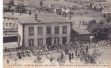 18984 COURS - Gare Voyageurs  Vue Estérieure, Société Des Fifres Gymnastique Partant Concours. 5 Phot Populaire Hche? HG - France