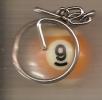 Boule De Billard N° 9 - Llaveros