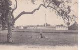 18997 CHAMPAGNEY / L'usine Mulfort . 2125 Mayer Belfort Enfant Poule. Signée Maurice Melin,