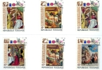 Togo: Christmas 1972 Complete Set Of 6 Stamps Used - Lot. A5 - Togo (1960-...)