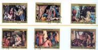 Togo: Christmas 1970 Complete Set Of 6 Stamps Used - Lot. A6 - Togo (1960-...)
