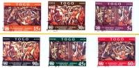 Togo: Easter 1967 Complete Set Of 6 Stamps Used - Lot. A11 - Togo (1960-...)