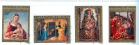 Tchad : Christmas 1972 Air Mail Complete Set Of 4 Stamps Used - Lot. A26 - Ciad (1960-...)