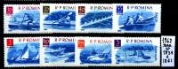 Serie Completa - ROMANIA - ROUMANIE - 1962 -nuovi - News. - 1948-.... Republics
