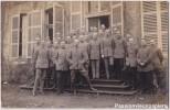 JOUY AUX ARCHES   DEPART DU COLONEL  KUNDT   5 OFFCIERS Nomméq 1918 - France