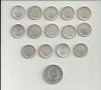 SUPERBE LOT - PIECES ARGENT - 14 X 5 Francs Semeuse + 1 X 50 Francs Hercule - Voir Scan - J. 5 Francs