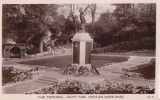 WESTON SUPER MARE -WAR MEMORIAL, GROVE PARK - Weston-Super-Mare