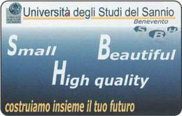 *ITALIA: UNIVERSITA´ DEGLI STUDI DEL SANNIO* - Scheda Usata