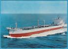 JAWAHARLAL NEHRU - India Tanker Ship ( Croatian Old Rare Postcard ) Pétrolier Petroliera Petrolero Petroleiro - Tankers