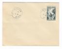 CÔTE  D´ OR  /  FÊTES  DE  LA  VIGNE  À  DIJON  /  Enveloppe Philatélique Avec Timbre Et Cachet En Date Du 21-9-1946 - Timbres