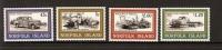 Norfolk Island-1995 World War II Vehicles  MNH - Norfolk Island
