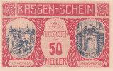 Notgeld 50 Heller  : ARTSTETTEN - Autriche