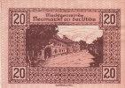 Notgeld 20 Heller  : NEUMACH - Autriche