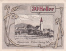 Notgeld 30 Heller  : ESTERNBERG - Autriche