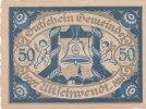 Notgeld 50 Heller  : UTTICHWENDT - Autriche