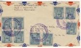 VENEZUELA  - 1946 , Luftpostbrief Aus CARACAS Nach NEW YORK - Venezuela