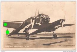 Wehrmacht Luftwaffe Focke Wulf Nahaufklärer FW 189 Mit 2 Argus Flugmotoren 21.8.1942 Feldpost Nr L 30010 LGP Münster - Guerre 1939-45