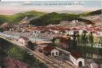 BESSEGES (GARD) VUE GENERALE PRISE DU COTE DE LA GARE (WAGONS) 1934 - Bessèges