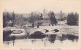 19019 RADEPONT PONT SUR L´ANDELLE ET PERSPECTIVE SUR L´EGLISE - G André Vernon - France