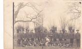 19027 Isbergues (62 F) Carte Photo, équipe Anglaise ADC ? Réparation Camions Automobiles Tampon  Guerre 14-18 Desfennes - Guerre 1914-18