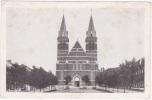 Quaregnon - Lourdes / L'église Et L'esplanade - Quaregnon
