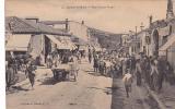 19048 SOUK  AHRAS : Rue Victor Hugo . 4 Coll Ideal PS -café Du Tonkin. Tampon Régiment Zouaves