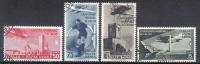 BIN97 - REGNO 1934 , Posta Aerea N. 69/72 CALCIO . Annulli Postumi - Luftpost