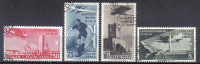 BIN97 - REGNO 1934 , Posta Aerea N. 69/72 CALCIO . Annulli Postumi - 1900-44 Victor Emmanuel III