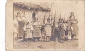 19054 Carte Photo Algerie ? , Balkans ? , Montenegro ? ?  Famille Folklore ;  état !! - A Identifier