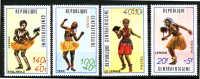 REPUBLIQUE CENTRAFRICAINE 1971 - DANSES - Danza
