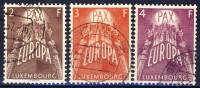 E840. EUROPE/CEPT. Luxembourg 1957. Cancelled(o) - Europa-CEPT