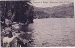GENZANO ROMA PANORAMA E LAGO DI NEMI  F/P VIAGGIATA 1924 - Altre Città