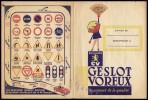 PROTEGE CAHIER - Biscuits GV, GESLOT VOREUX, Sablé Des Flandres - Cake & Candy