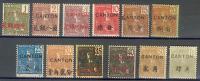 CANTON - Bureau Français En Chine - N° 33 à 46 (sauf N° 36 Et 45) Soit 12 Timbres De 1906 - Unclassified