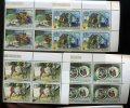 1988   Année Des Sans-abri,  Bloc De 4 Séries 959/962**, Cote 160 € - Burundi