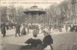 SAINT BRIEUC - Le Kiosque De La Musique Sur Les Promenades - Saint-Brieuc