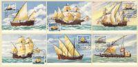 Sao Tome Et Principe Bateaux à Voile Portugal Decouvertes Cartes Maximum 1979 St. Thomas And Principe Ships Maxicards - Boten