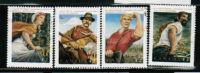 CANADA, # 1432-35, 1992, CANADIAN FOKLORE   USED - 1952-.... Règne D'Elizabeth II