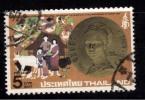 Thailand Used 1980, 5b F.A.O. Medal. Animal, Bird, Fish, Cow, Plant, Fruit Vegitable - Thailand