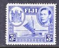 Fiji 122   *  SAILING CANOE - Fiji (...-1970)