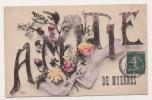 CPA  AMITIES DE MYENNES - France