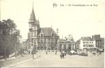 LUIK - Liège - De Cockerillplaats En De Post -  Edit. Star - Place Cockerill Et La Poste - Luik